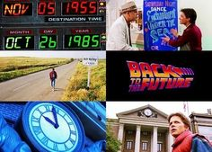Back To The Future collage 80s Movies, Movie Tv, Great Scott, Bttf, Back To The Future, Time Travel, All About Time, Nerd, Collage