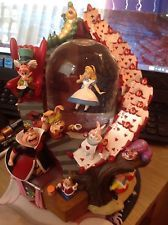 Disney Alice In Wonderland Snowglobe