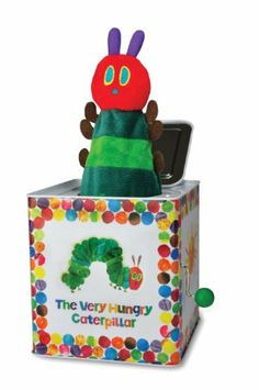 Amazon.com: Kids Preferred The World of Eric Carle The Very Hungry Caterpillar Toy, Jack in the Box: Baby