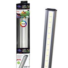 AQUAVIE Lumivie RAL G2 RGB rampes LEDs avec spectre pour aquarium d'eau douce avec plantes. 9 longueurs au choix. - Rampes et galeries/Rampes d'éclairage à LEDS - AkouaShop : Aquarium, matériel et accessoires d'Aquariophilie en ligne