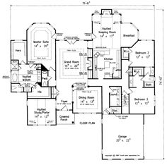 Weatherstone Home Plans And House By Frank Betz Ociates Floor Design