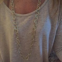 Kenneth Jay Lane Accessories - Kenneth jay Lane link long gold chain