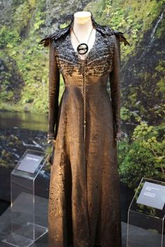 "From ""Game of Thrones"" worn by Sophie Turner as Sansa Stark design by Michele Clapton"