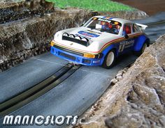 ManicSlots' slot cars and scenery: HOW-TO: Rally Scenery Track Piece