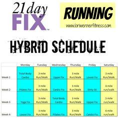 Hybrid Schedules - LORI WERNER FITNESS