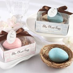 Egg Soap Baby Shower Favors by Beau-coup