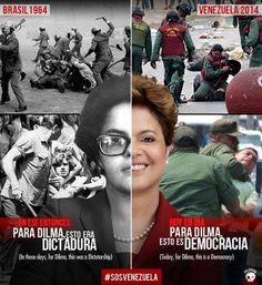 Dilma é cúmplice de sequestro do prefeito venezuelano.