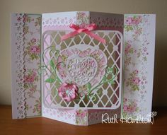 Blog tonic: Punch and Stamp - Rose