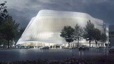 China Philharmonic Hall by MAD