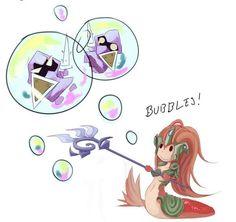 Nami <3 bubbles!