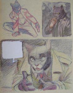 Some sketchs from Juanjo Guarnido's sketchbook