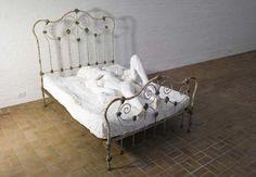 George Segal - Lovers in Bed 1970