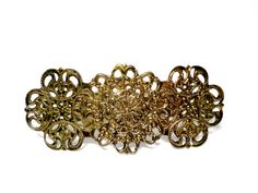 Vintage Brass Barrette Hair Clip Collectible by TheVintagePorch