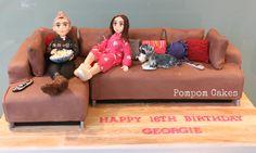 Sofa cake