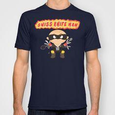 Swiss Knife Man T-shirt