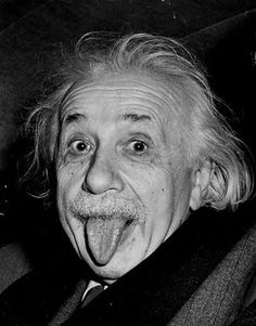 Albert Einstein, theoretical physicist. He has a brilliant mind and a unique understanding of the world even if his personal life is disastrous.