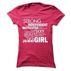 I'm A Judo Girl T Shirt