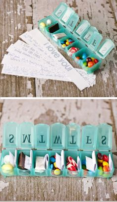 Seven Days Of Love | Click Pic for 38 DIY Valentine Gifts for Him | DIY Valentine Gifts for Boyfriend