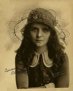 Olive Thomas, 1920's silent film star