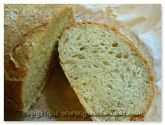 Easy Bread Recipe - Gwen's Nest (bread recipes with yeast low carb) Super Easy Bread Recipe, Easy Bread Recipes, Thm Recipes, Cooking Recipes, Trim Healthy Momma, Healthy Life, Mama Recipe, Recipe Recipe, Gourmet