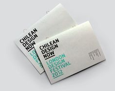 Identity and print material to promote Chilean design during the London Design Festival The guide included a map of all venues and was binded with brass loop stitches allowing booklets to be hanged. Modern Graphic Design, Graphic Design Inspiration, Schedule Design, Festival Guide, London Design Festival, Business Card Design, Business Cards, Map Design, Printed Materials