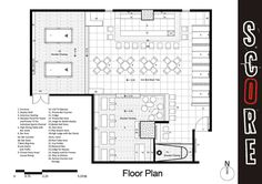 Small Bar And Grill Floor Plans Slyfelinos Simple