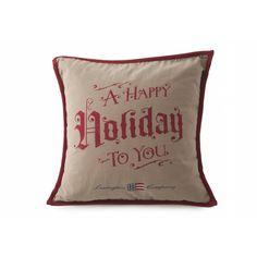 Lexington Dekokissen Happy Holiday Sham · home go lucky