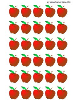 Apple Tree Math I was chatting with a friend/reader this evening and she mentioned that her daughter was struggling a bit with the concept of subtraction. She said she wished that I had an apple tr… Toddler Learning Activities, Montessori Activities, Card Games For Kids, Math Graphic Organizers, Apple Theme, Math About Me, Preschool Lesson Plans, School Posters, Kindergarten Writing