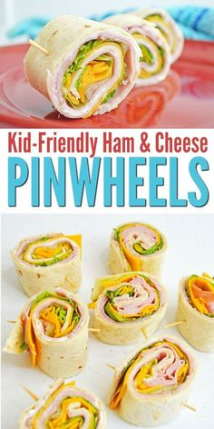 kid-approved ham and cheese pinwheels are perfect for an easy back to school lunch idea. The kids will actually eat this! via kid-approved ham and cheese pinwheels are perfect for an easy back to school lunch idea. The kids will actually eat this! Lunch Snacks, Clean Eating Snacks, Food For Lunch, Recipes For Lunch, School Lunch Recipes, Healthy Recipes For Kids, Clean Lunches, Cold Lunches, Kids Cooking Recipes