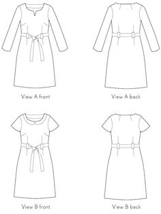 Lisette: Bistro dress sewing pattern. Hm... resembles the Sewaholic Alma pattern, but as a dress.