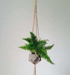 Hanger com vaso de cimento