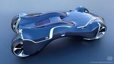 Tron – The hero car for Shanghai Disneyland   danielsimon