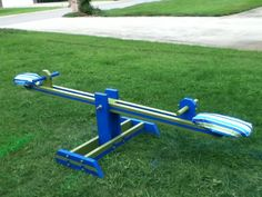 Ana White | Seesaw Surprise - DIY Projects