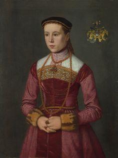 Nicolas_de_Neufchâtel – Susanna Stefan (died 1594), wife of Wolff Furter (1538? – 1594) of Nuremberg, National Gallery London