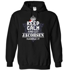 awesome It's a JACOBSEN thing, Custom JACOBSEN Name T-shirt Check more at http://writeontshirt.com/its-a-jacobsen-thing-custom-jacobsen-name-t-shirt.html