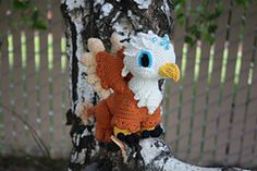 Ravelry: Gilda the Griffin pattern by Marie Overton