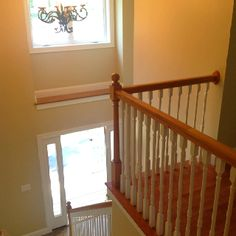 Chase Custom Homes has really built a beautiful entry way in side one our 20 Westbranch home