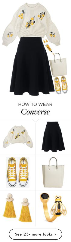 """""""Untitled #10596"""" by miki006 on Polyvore featuring Chrysalis, Miss Selfridge, MANGO and Lands' End"""