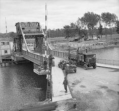 The Pegasus Bridge as held by the Allies, 6 June 1944