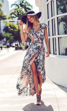 ANAHI PRINT DRESS