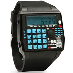 BPM Drum Machine Style Calculator Wristwatch $79.99