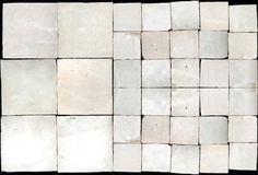 Glazed Hand-Cut Moroccan Tiles : these are Blanc tile by Emery et Cie. Bath Tiles, Bathroom Floor Tiles, Kitchen Tiles, Kitchen And Bath, Tile Floor, Kitchen Reno, Mosaic Tiles, Kitchen Design, Moroccan Tiles