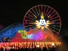 W is for World of Color