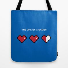 """""""The Life of a Gamer"""" Tote Bag"""