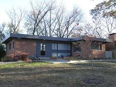 1000 Images About Mid Century Modern Ranch Exterior On