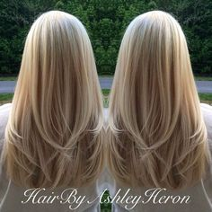 15 So-Pretty Hairstyles for Long Hair Multidimensional blonde with long layers Meaghan L – Farbige Haare Tapered Haircut, Hair Day, Girl Hair, Pretty Hairstyles, Easy Hairstyles, Choppy Hairstyles, Layered Hairstyles, Hairstyles 2016, Casual Hairstyles