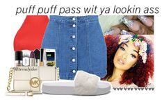 90's witha dash of 2000's by badleaa on Polyvore featuring polyvore, fashion, style, Boohoo, Puma and clothing