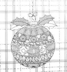 Home for the Holidays: A Hand-Crafted Adult Coloring Book