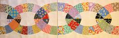 Chain Border. Pattern can be found here: http://ivanandlucy.blogspot.com.au/2014/03/chain-link-quilt-pattern-pieces.html #quilting