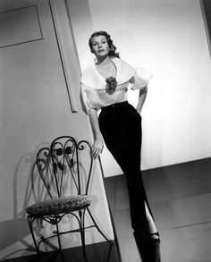 American dancer and film actress Rita Hayward.